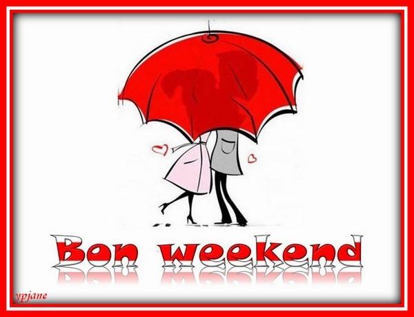 Bon weekend........sous la pluie